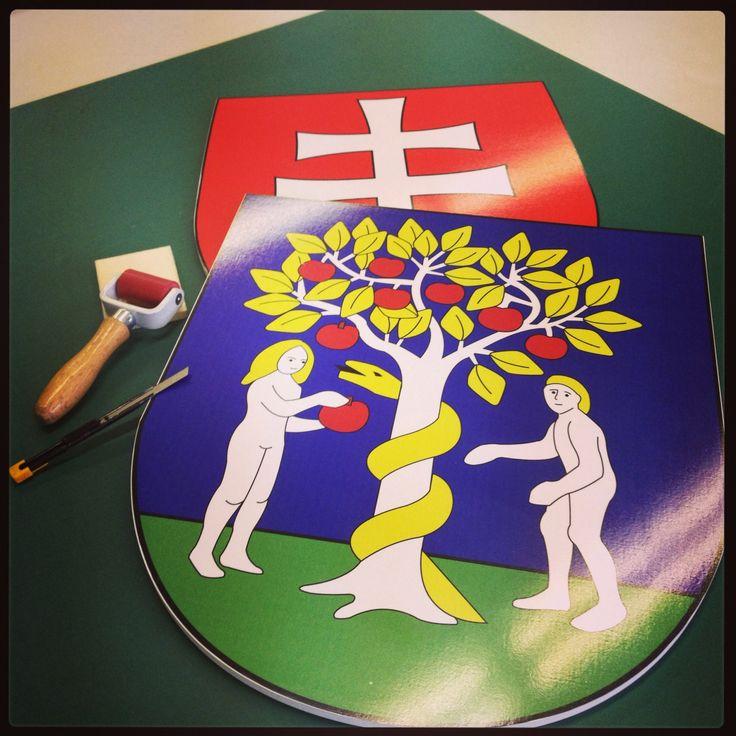 Symbol obce Jablonica
