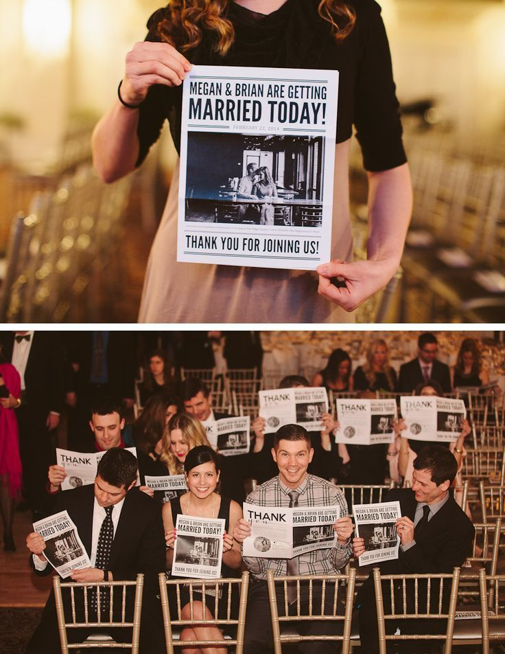 \なれそめもノロケも大公開/発行元は、新郎新婦*ゲストに配る『ブライダル新聞』がおもしろい♡にて紹介している画像