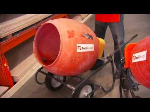 by homedepot   A concrete mixer can help you get your patio project done  faster  Rent one from. 75 best Tools You Can Rent images on Pinterest