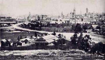 Melbourne, Victoria, Australia in 1885.A♥W