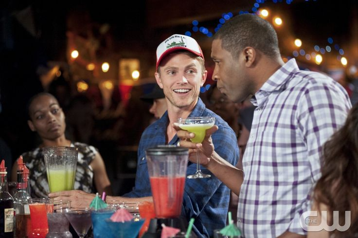 "Hart of Dixie -- ""If Tomorrow Never Comes"" -- Pictured (L-R): Wilson Bethel as Wade and Cress Williams as Lavon -- Image Number: HA220b_0160b.jpg �%u20AC%u201D Photo: Eddy Chen/The CW -- �2013 The CW Network, LLC. All rights reserved.pn"
