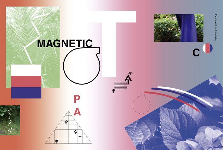 """""""Magnetic T""""  Póster digital"""