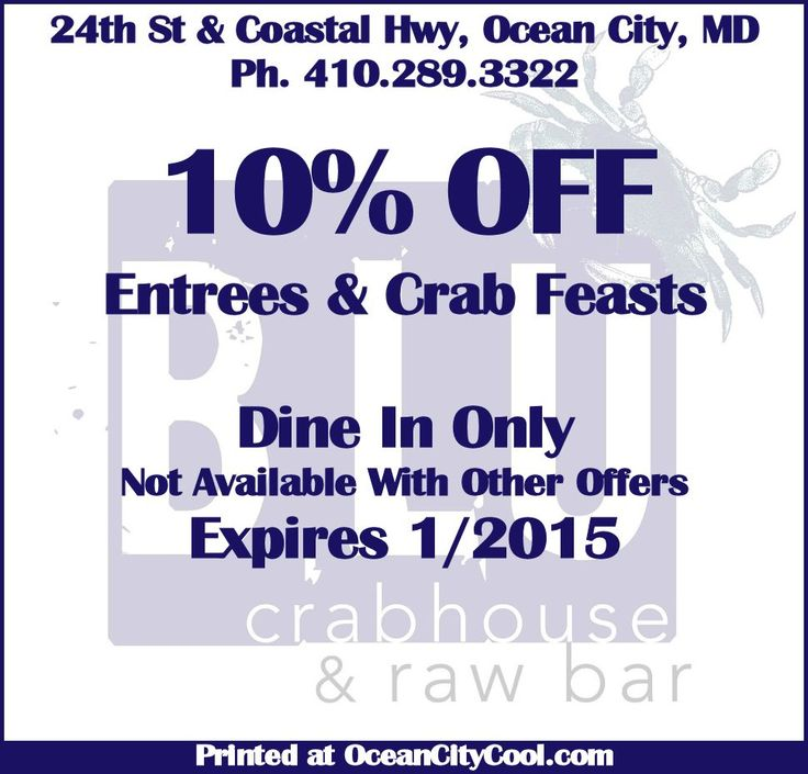 Coupon book ocean city maryland