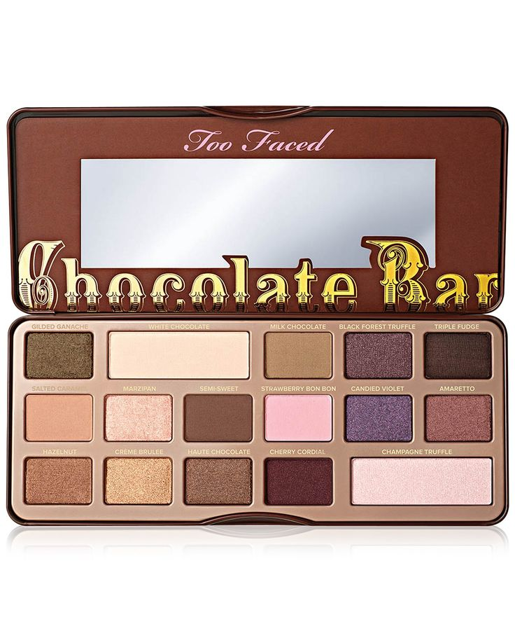 Too Faced Chocolate Bar Eye Shadow Palette - Makeup - Beauty - Macy's