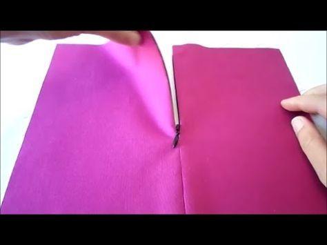 ▶ Cómo poner cremalleras. Curso online Aprende a coser a máquina - YouTube