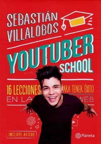 youtuber school - sebastian villalobos - libro original+ cuesta 29.900