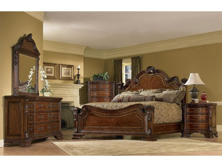 The Old World Queen Bedroom Group by A.R.T. Furniture Inc at Olinde's Furniture in the Baton Rouge and Lafayette, Louisiana area.