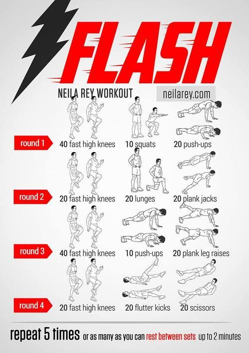 Workout like the Flash
