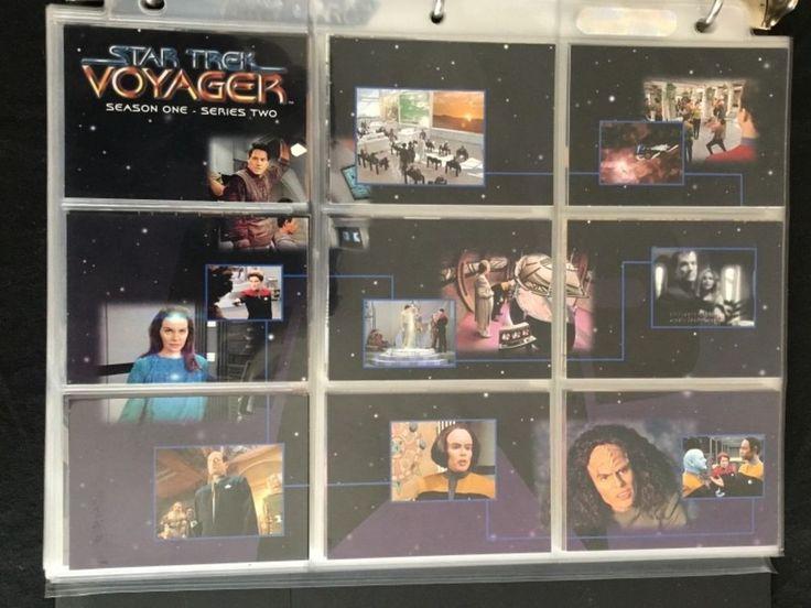 Star Trek Voyager Season 1 Series 2 Skybox 1995 Collector Cards Master Set/Extra