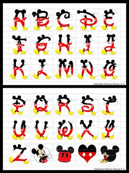 mickey mouse letters 1000 images about places to visit on 23637