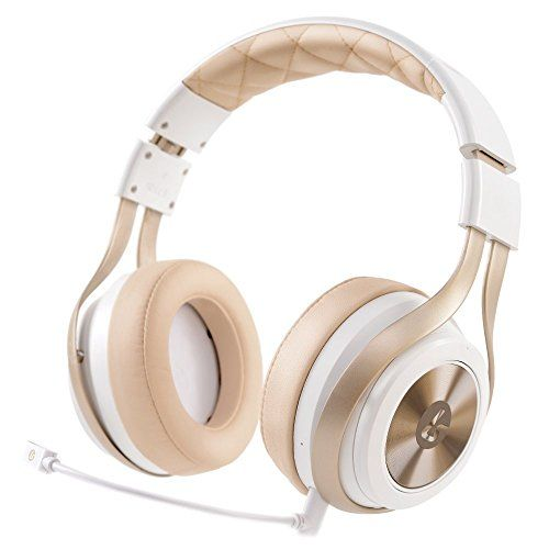 LucidSound LS30 Wireless Universal Gaming Headset (White) - PRO, PS4, Xbox One, PC, PS3, Xbox 360, Mobile Devices