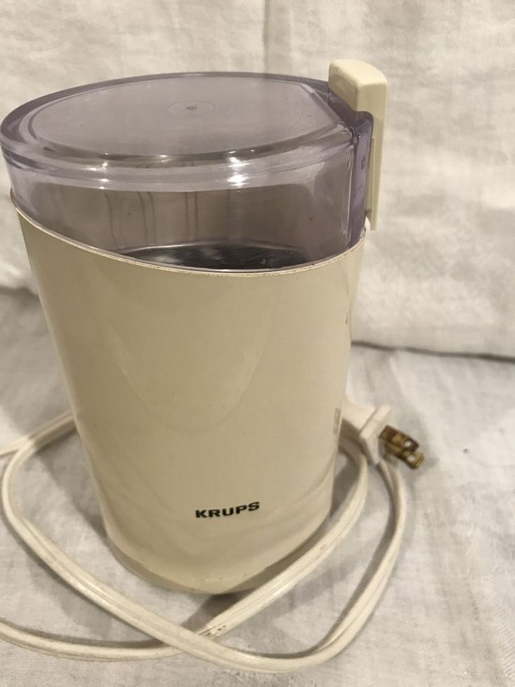 Krups Coffee Bean Mill Grinder Fast One Touch Type 203 B Household 160W #Krups