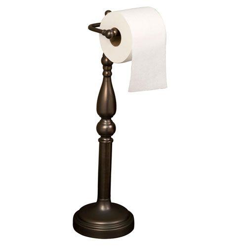 Cordelia Antique Brass Toilet Paper Holder Barclay