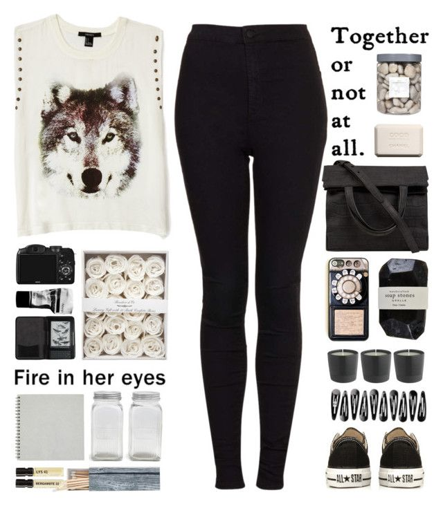 Hungry like the wolf by centurythe on Polyvore featuring polyvore, fashion, style, Forever 21, Topshop, Converse, Alexander Wang, On Your Case, Cole Haan, Cassia, Chanel, Park Hill Collection, Bamford, Threshold, Le Labo, Aesop, CO, Franklin, women's clothing, women's fashion, women, female, woman, misses and juniors