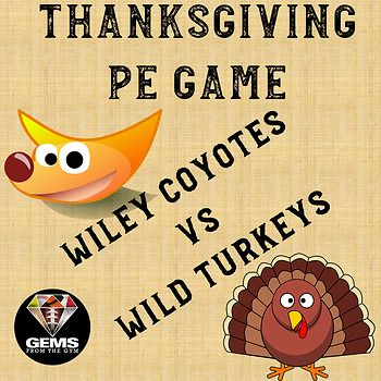 You will receive a super fun Thanksgiving Game to enjoy the holiday season with your students! The game covers at least one SHAPE America standard. Students will have a blast as they play the game and master the agility and teamwork skills featured!  Physical Education / Games / Warm-up Games / Elementary / PE / Skills / Posters / Bulletin Boards / Unity / Assessment / Rubrics / Rubric / Lesson Plans