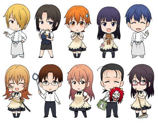 Souta, Kyoko, Inami, Yamada, Souma, Yachiyo, Takanashi, Takanashi cross dressed, Otoo, and Matsumoto