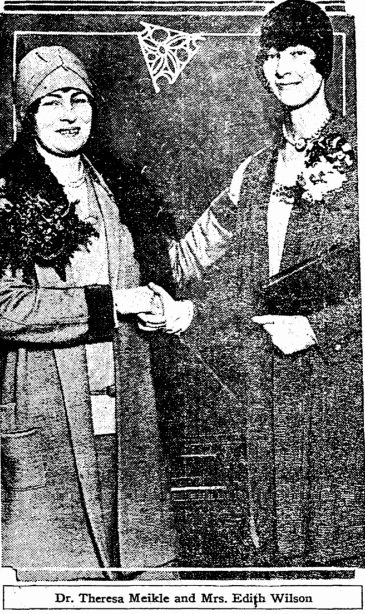 "Theresa Meikle - Wikipedia - ""Theresa Meikle (August 4, 1893 – August 7, 1967) became the presiding judge of San Francisco County Superior Court in 1955, the first woman elected to such a position in any major American city."""