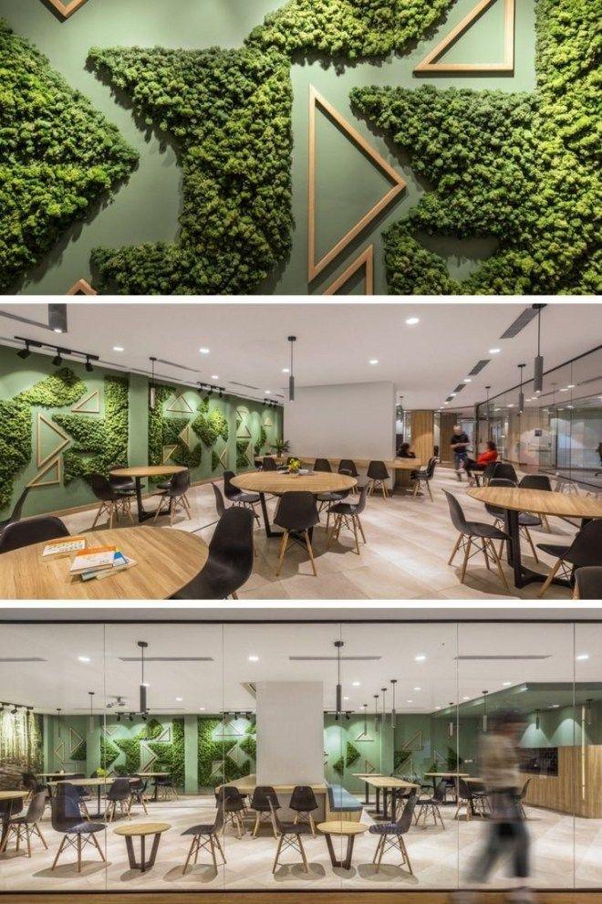 37 Beautiful Garden Pictures For You Engineering Basic Green Wall Design Cafe Interior Design Restaurant Interior Design