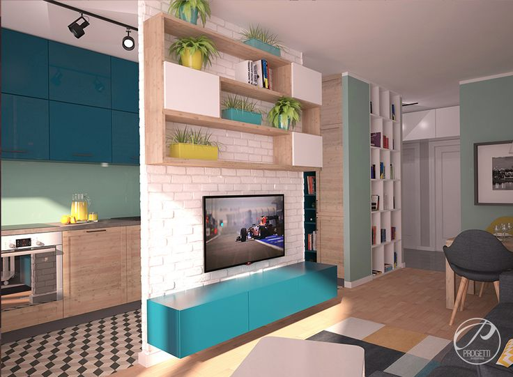 Kolor w mieszkaniu. Projektowanie mieszkań Warszawa.  Nowoczesne wnętrza nie musząbyćnudne. Gra kolorów i faktur buduje atmosferę przytulności i niepowtarzalności.  | Progetti Architektura