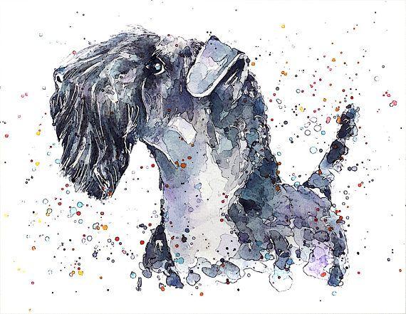 Kerry Blue Terrier  Digital