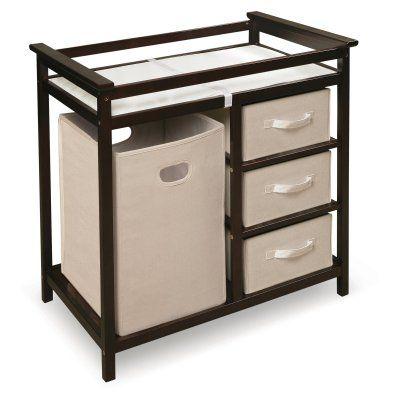 Badger Basket Modern Changing Table Espresso - 02502