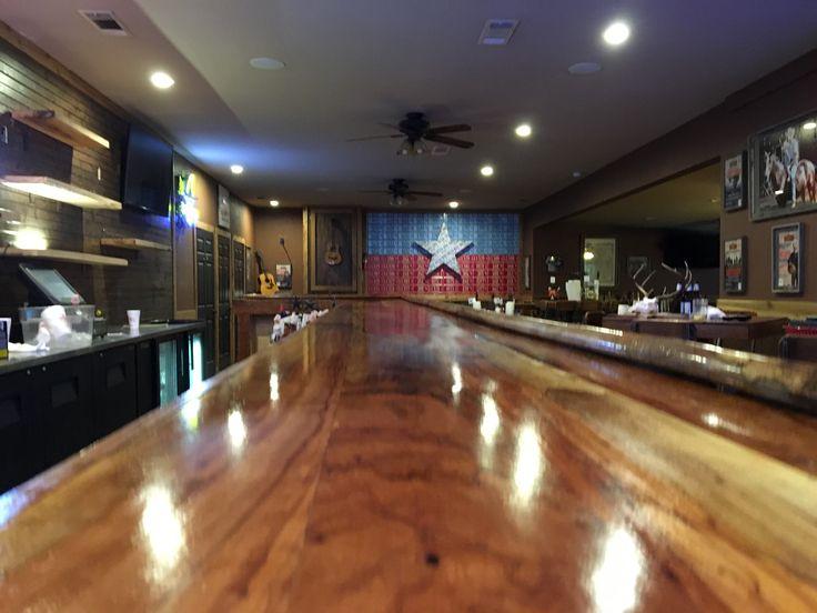 Pecan bar top