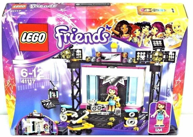 LEGO 41117 FRIENDS Pop Star TV Studio  Ages 6+  194 Piceces | NEW SEALED