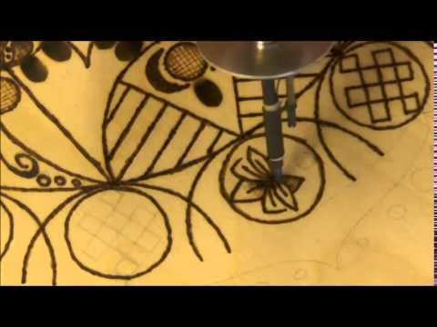 Pirografia - Come fare un mandala su legno - Pyrography - How make a man...
