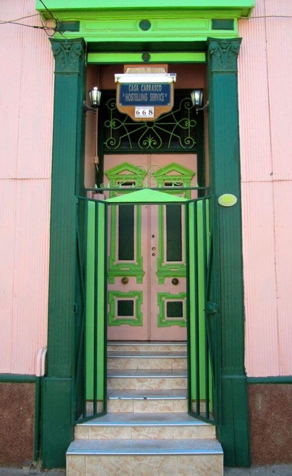 Valparaíso, Chile door