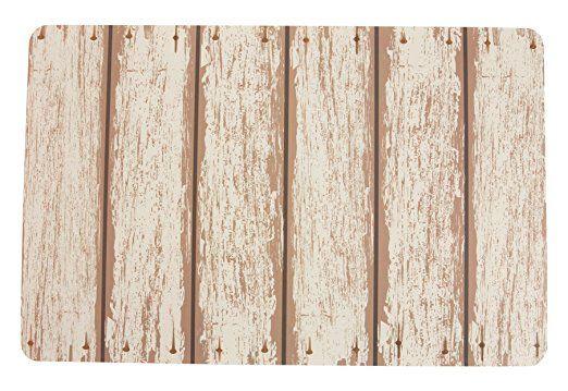 Villa d 'Este Home Tivoli 2413555Juego de 6manteles individuales, madera Blanco, 1x 28x 44cm