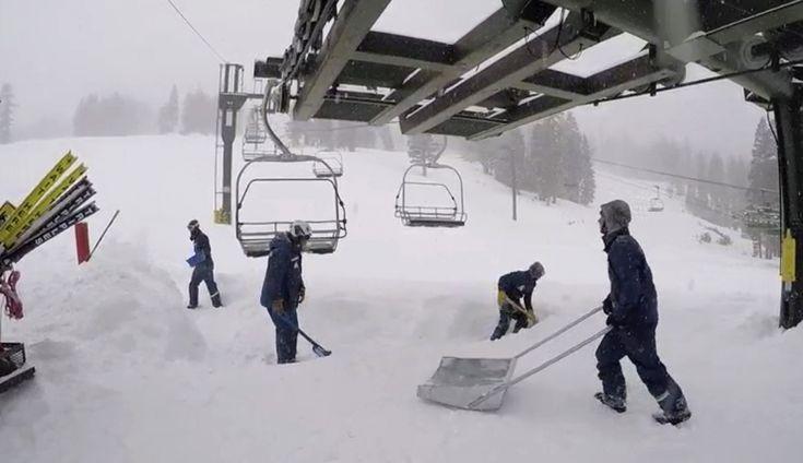 Avalanche! Blizzard Leaves 1 Dead at California Ski Resort