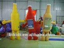 aufblasbare kostüme flasche förderung