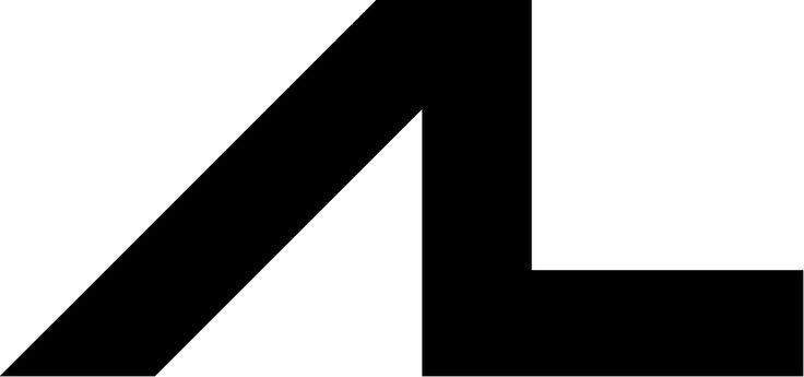 il logo di AL - progetto grafico: Salvatore Gregorietti, 2001