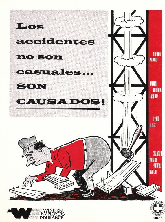 Vintage Workplace Safety Posters