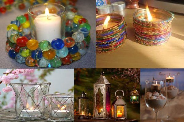 Must try the marbles and bangles ideas diwali bathroom for Simple diwali home decorations