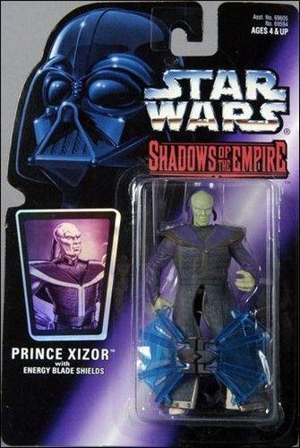 Star Wars Shadows of the Empire 1996 PRINCE XIZOR Action Figure
