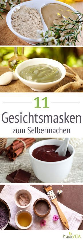 Make Face Masks: 11 Recipes for Great Skin Cosmetics  -  Hautpflege-Rezepte