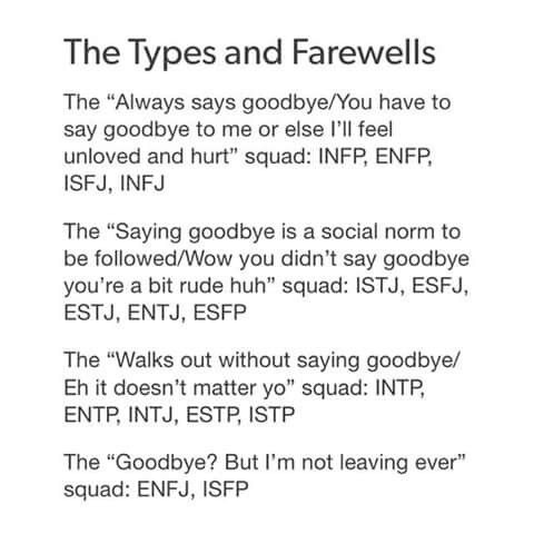INFJ Abandonment issues  Sorry, not sorry  Just please, for