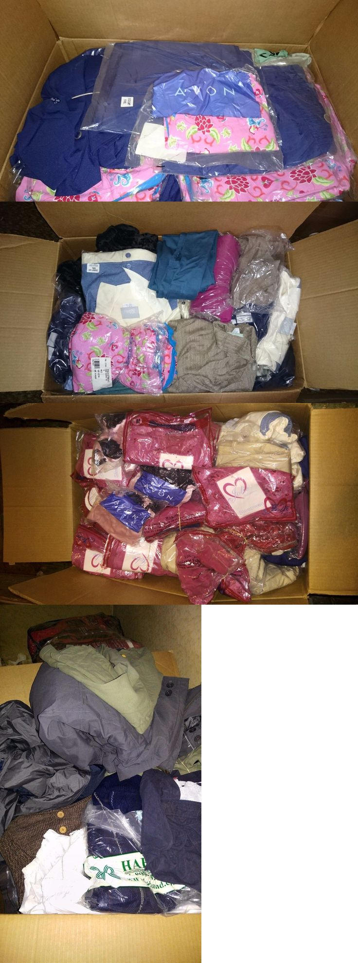 Mixed Lots 45057: Wholesale Pallet 2000 Brand New Woman Men Clothing Hand Bags Purses Coat -> BUY IT NOW ONLY: $999.99 on eBay!