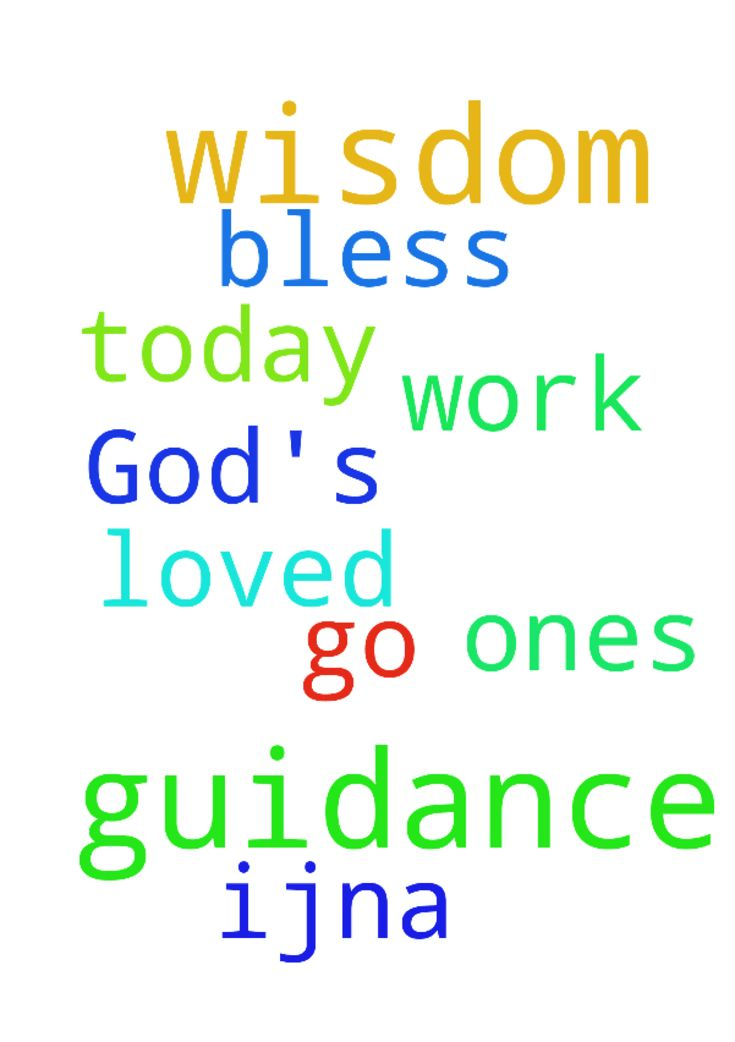 Please pray God's guidance and wisdom for me and my - Please pray Gods guidance and wisdom for me and my loved ones at work amp; where we go today. Thank You Lord amp; bless all here, IJNA Posted at: https://prayerrequest.com/t/rp0 #pray #prayer #request #prayerrequest