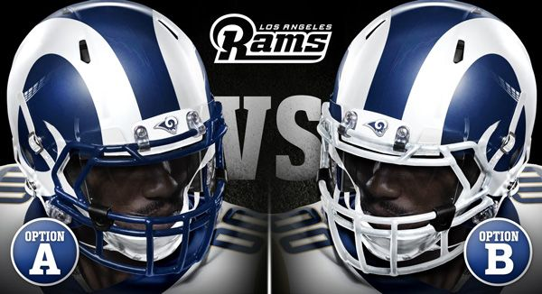 The Los Angeles Rams will be evolving their uniforms for the 2017 season with the announcement of a new helmet plus fan vote on the face mask color.
