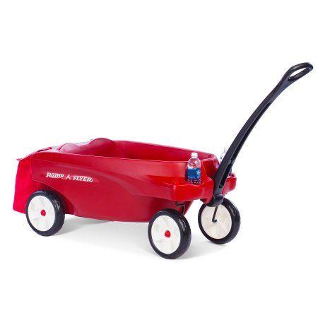 Radio Flyer Triple Play Wagon, Red
