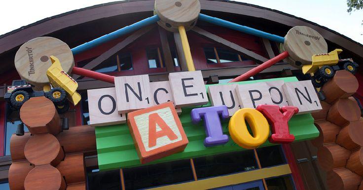 Loja Once Upon a Toy no Disney Springs em Orlando #viagem #miami #orlando