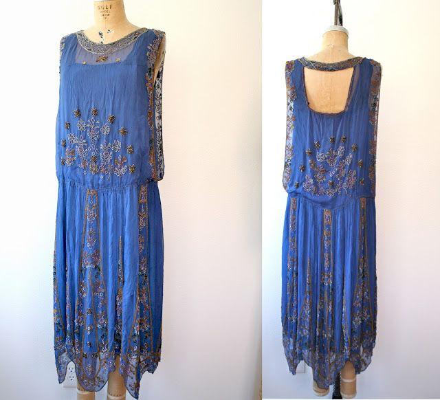 No Carnations: 1920s dress