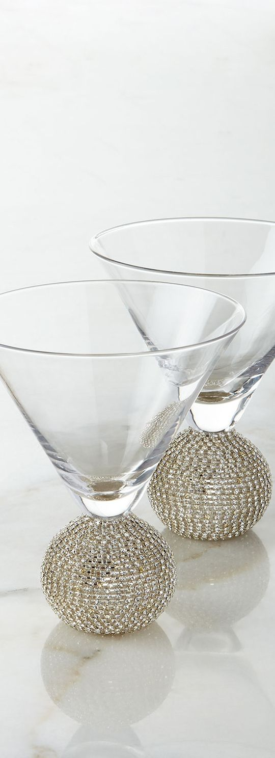 Martini Glasses | Home Bar & Entertaining | www.earthgear.com