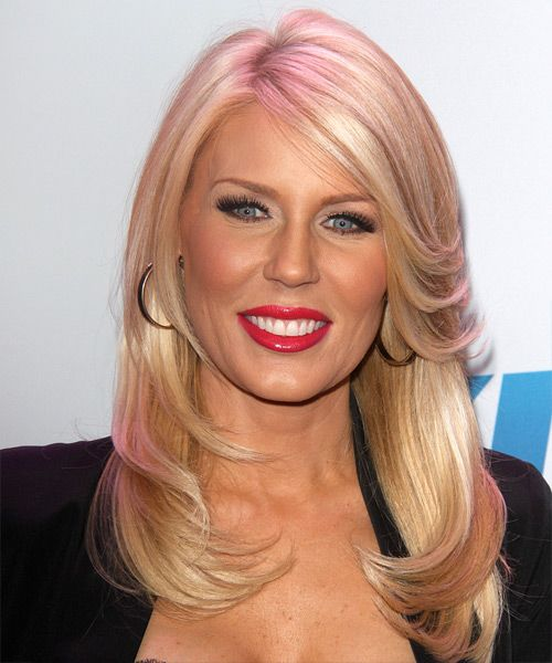 Gretchen Rossi Hairstyle - Formal Long Straight. Click on the image to try on this hairstyle and view styling steps!