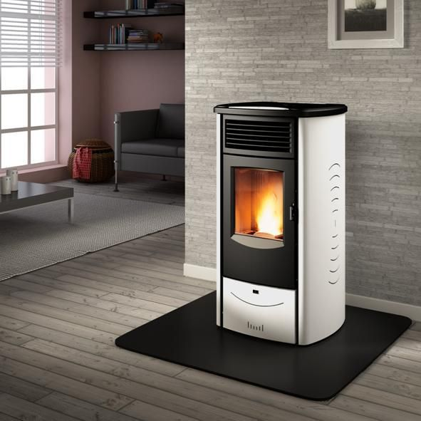 The Piazzetta Superior Monia Wood Pellet Burning Stove Can Heat Your Home With Renewable Energy Whilst Saving Money