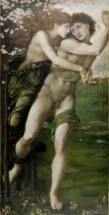 Phyllis and Demophoon by Sir Edward Burne-Jones