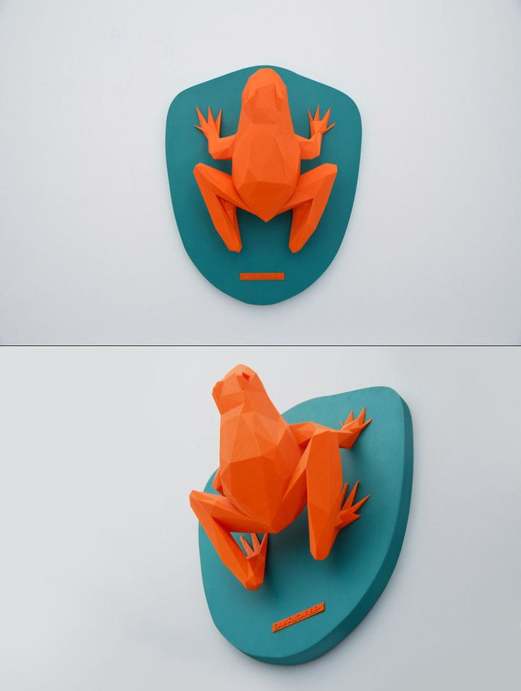 Frooga – 3d printed Hunting trophy