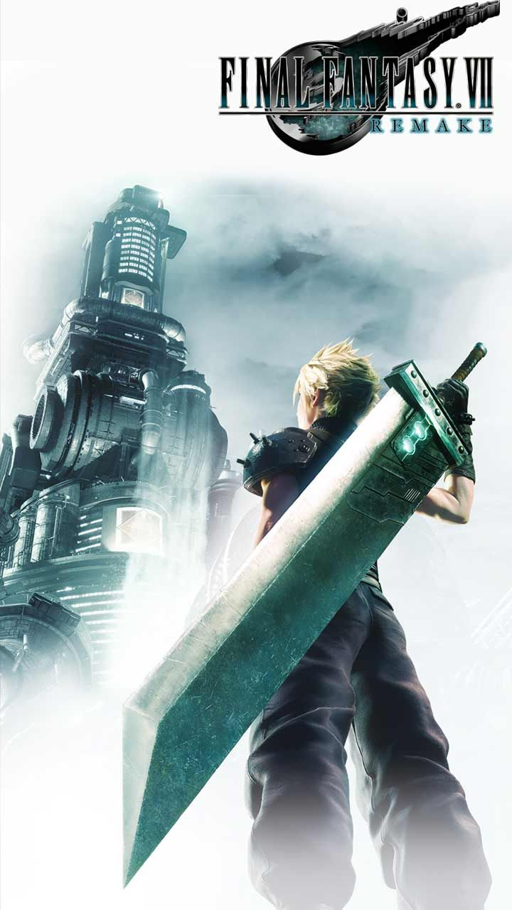Final Fantasy 7 Remake Wallpaper Hd Phone Backgrounds Ps4 Game Art Poster Logo On Iphone Android Final Fantasy Wallpaper Hd Final Fantasy Final Fantasy Vii